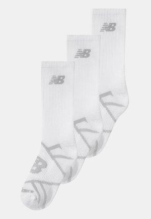RUNNING 3 PACK UNISEX - Sports socks - white
