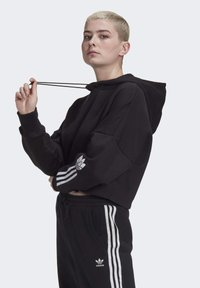 adidas Originals - Kapuzenpullover - black/white - 2