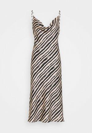 LOLA BRUSHSTOKE DRESS - Robe de soirée - blush/black