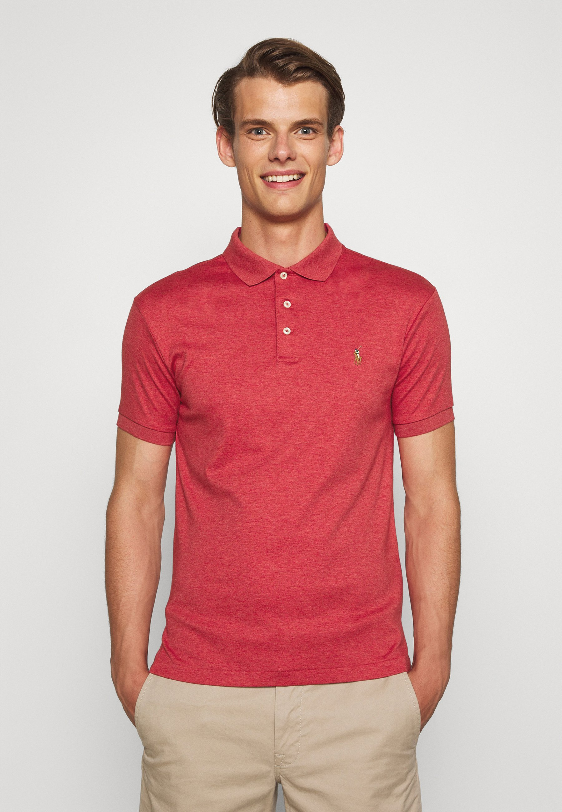 Men SLIM FIT SOFT COTTON POLO SHIRT - Polo shirt