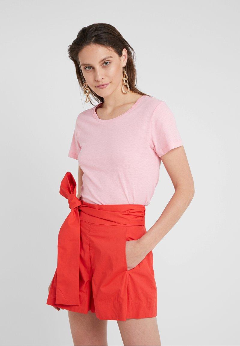 J.CREW - VINTAGE CREWNECK TEE - Basic T-shirt - dover pink