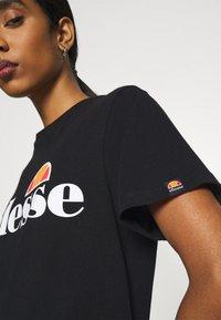 Ellesse - ALBANY - T-shirts print - black - 5