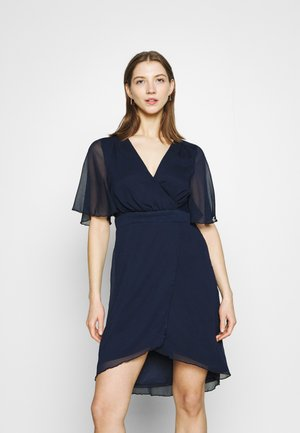 VIRILLA 2/4 SLEEVE DRESS - Cocktail dress / Party dress - navy