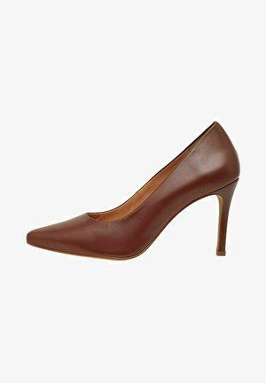High heels - warmbrown