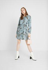 Vero Moda - VMSUS SHORT DRESS - Kjole - slate - 2