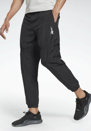MYT OLLIE JOGGERS - Tracksuit bottoms - black