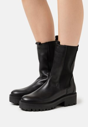 GINA - Platform boots - black