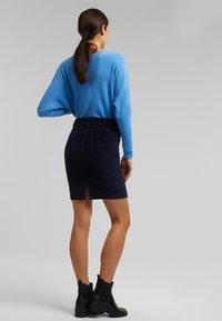 Esprit - PENCIL SKIRT - Pencil skirt - navy - 2