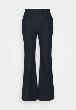 Straight leg jeans - rinse wash