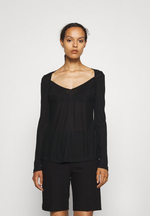 LIS - Maglietta a manica lunga - black