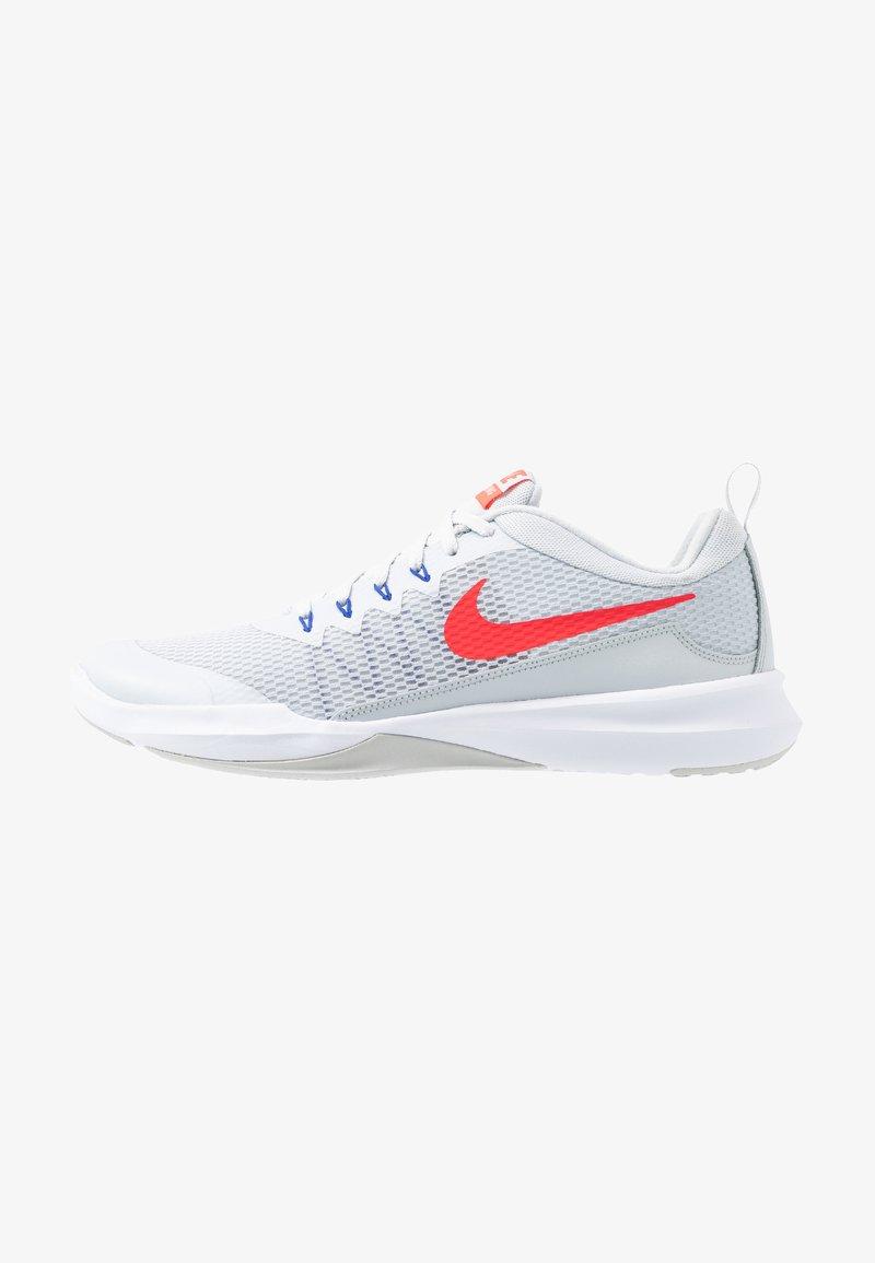 Nike Performance - LEGEND TRAINER - Træningssko - pure platinum/red orbit/racer blue