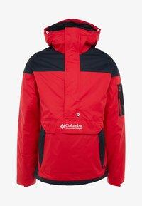mountain red/black