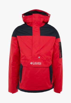 CHALLENGER - Winter jacket - mountain red/black