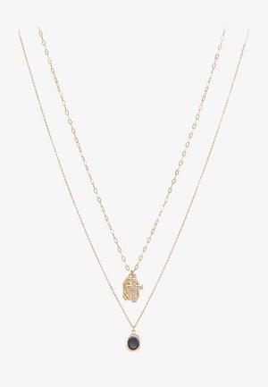 UNCOMMON SOULS MULTIROW NECKLACE - Kaulakoru - gold-coloured