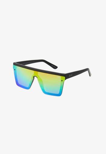 HINDSIGHT - Sunglasses - matte black/rainbow