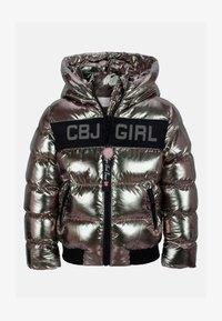 Cipo & Baxx - Winter jacket - silver - 3
