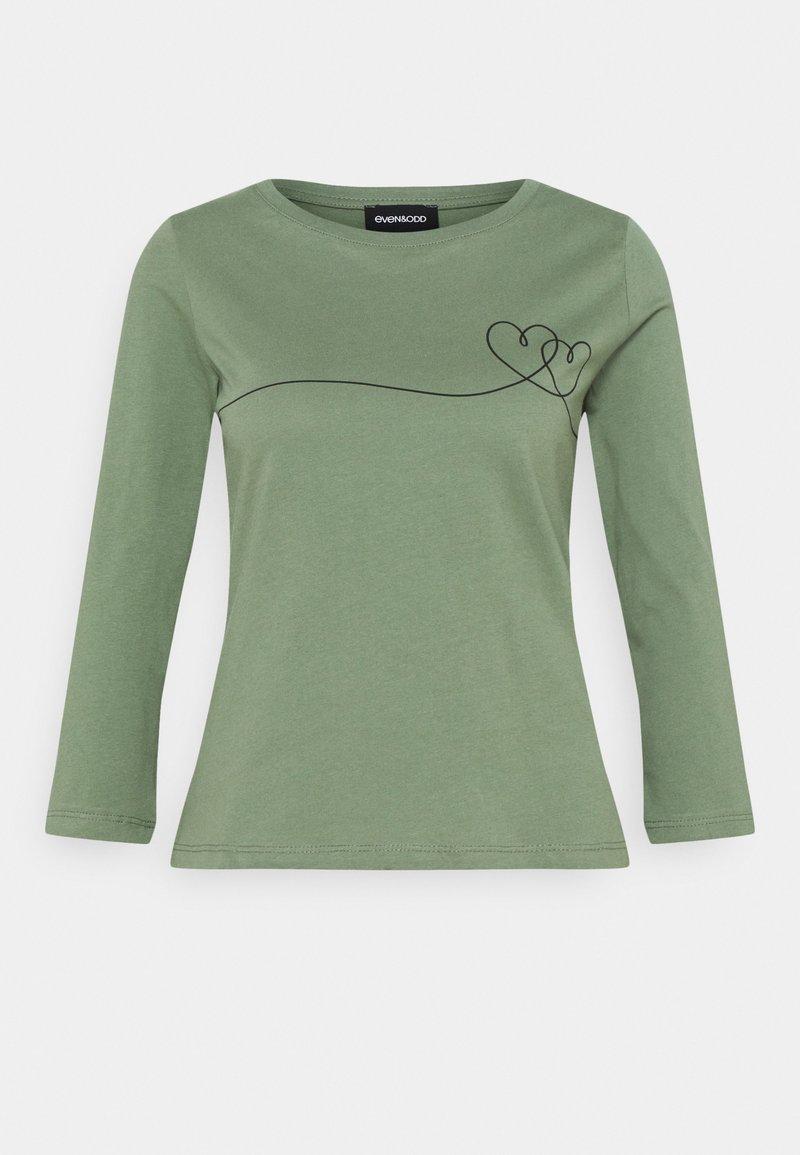Even&Odd - Long sleeved top - green