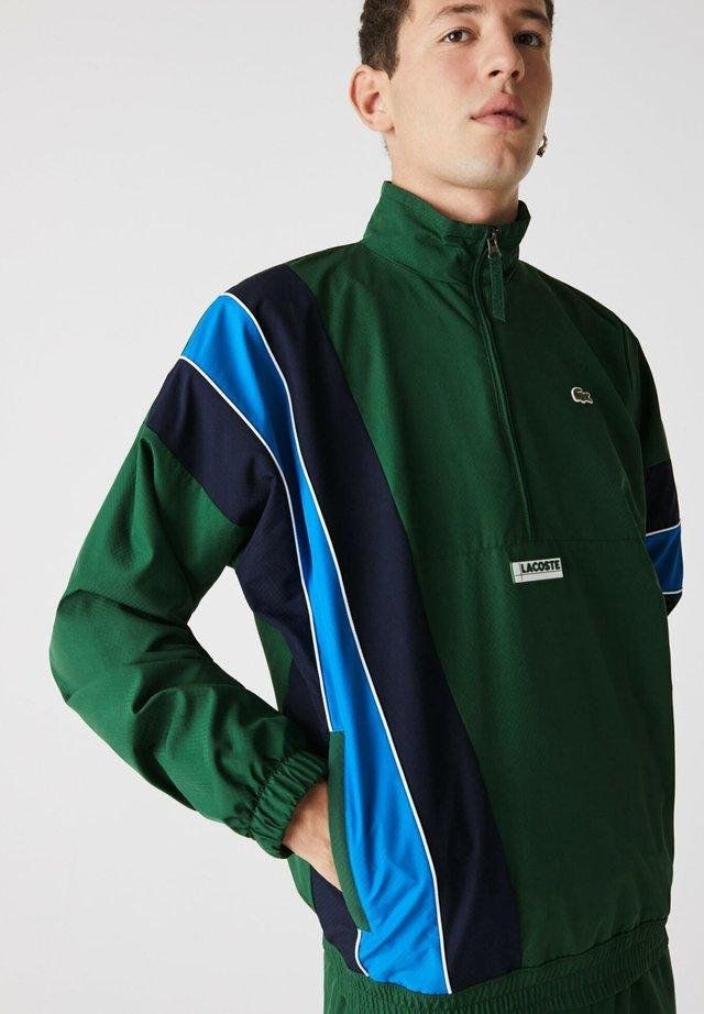 BH1511 - Veste de survêtement - vert / bleu marine / bleu / blanc