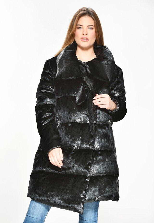 MIT BROMELA - Gewatteerde jas - black