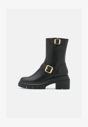 RYDER RISE BOOTIE - Kotníkové boty na platformě - black
