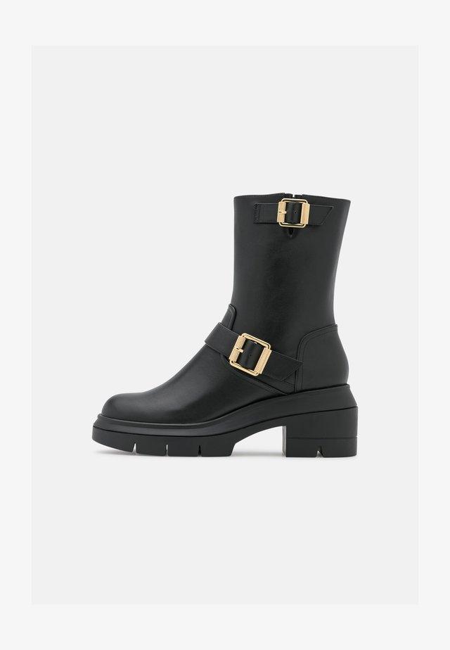 RYDER RISE BOOTIE - Platform ankle boots - black