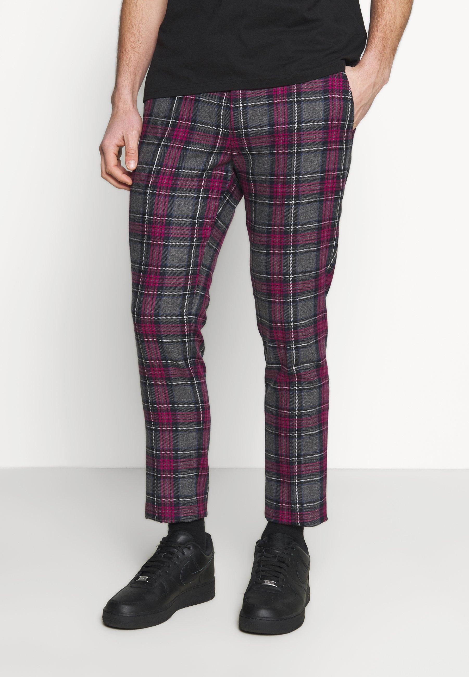Homme BELTON TROUSERS - Pantalon classique