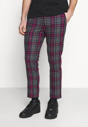 BELTON TROUSERS - Kangashousut - purple