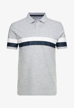 Polo - mottled light grey