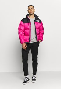 The North Face - 1996 RETRO NUPTSE JACKET - Down jacket - pink - 1