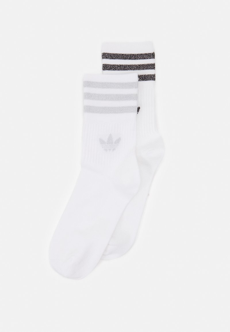 adidas Originals - UNISEX 2 PACK - Chaussettes - white/silver
