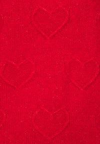 Dorothy Perkins Petite - BOBBLE HEART DESIGN - Jumper - red - 2