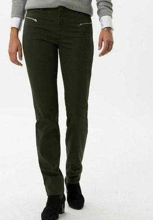 STYLE SHAKIRA - Trousers - dark olive
