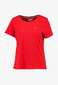 Tommy Jeans - TEE - T-shirts - racing red - 3