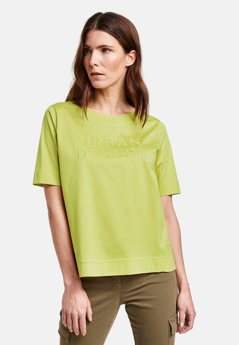 Gerry Weber - Print T-shirt - lime