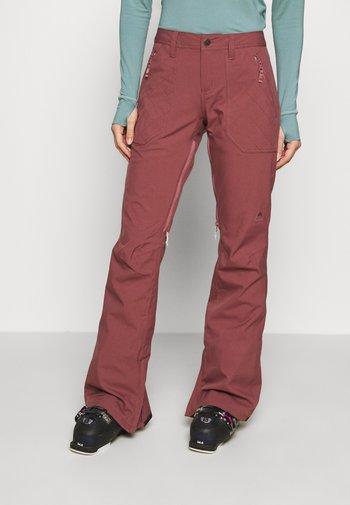 VIDA  - Ski- & snowboardbukser - rose brown