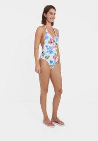 Desigual - HONOLULU - Swimsuit - white - 1