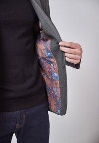 Next - SLIM FIT  - Blazer jacket - mottled grey - 4