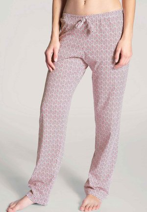 Pyjama bottoms - barberry red
