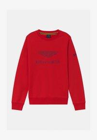 Hackett London - LOGO CREW - Sweatshirt - red - 0