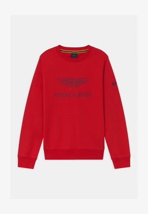 LOGO CREW - Sweatshirt - red