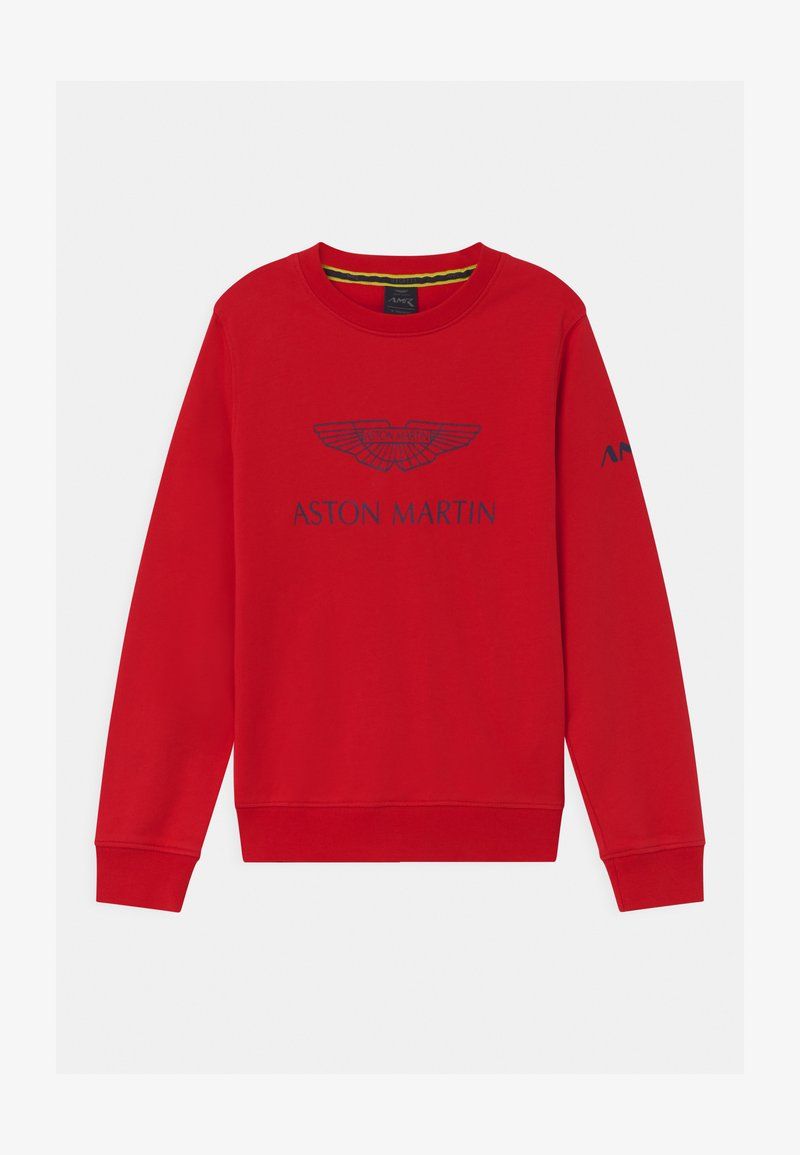 Hackett London - LOGO CREW - Sweatshirt - red