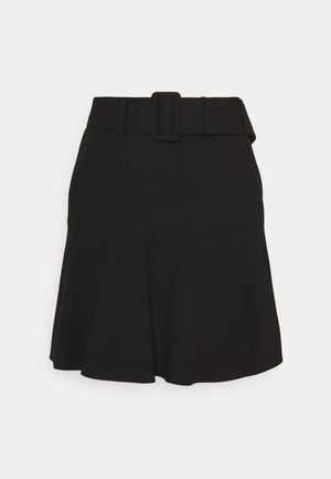 RETIA - Mini skirt - black