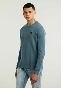 CHASIN' - FIBRE - Long sleeved top - blue - 3