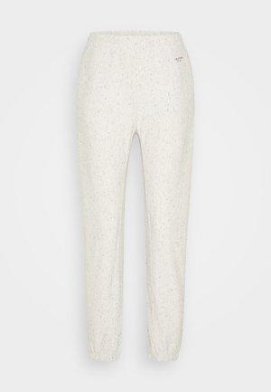 CITY WHITE LABEL - Teplákové kalhoty - ivory