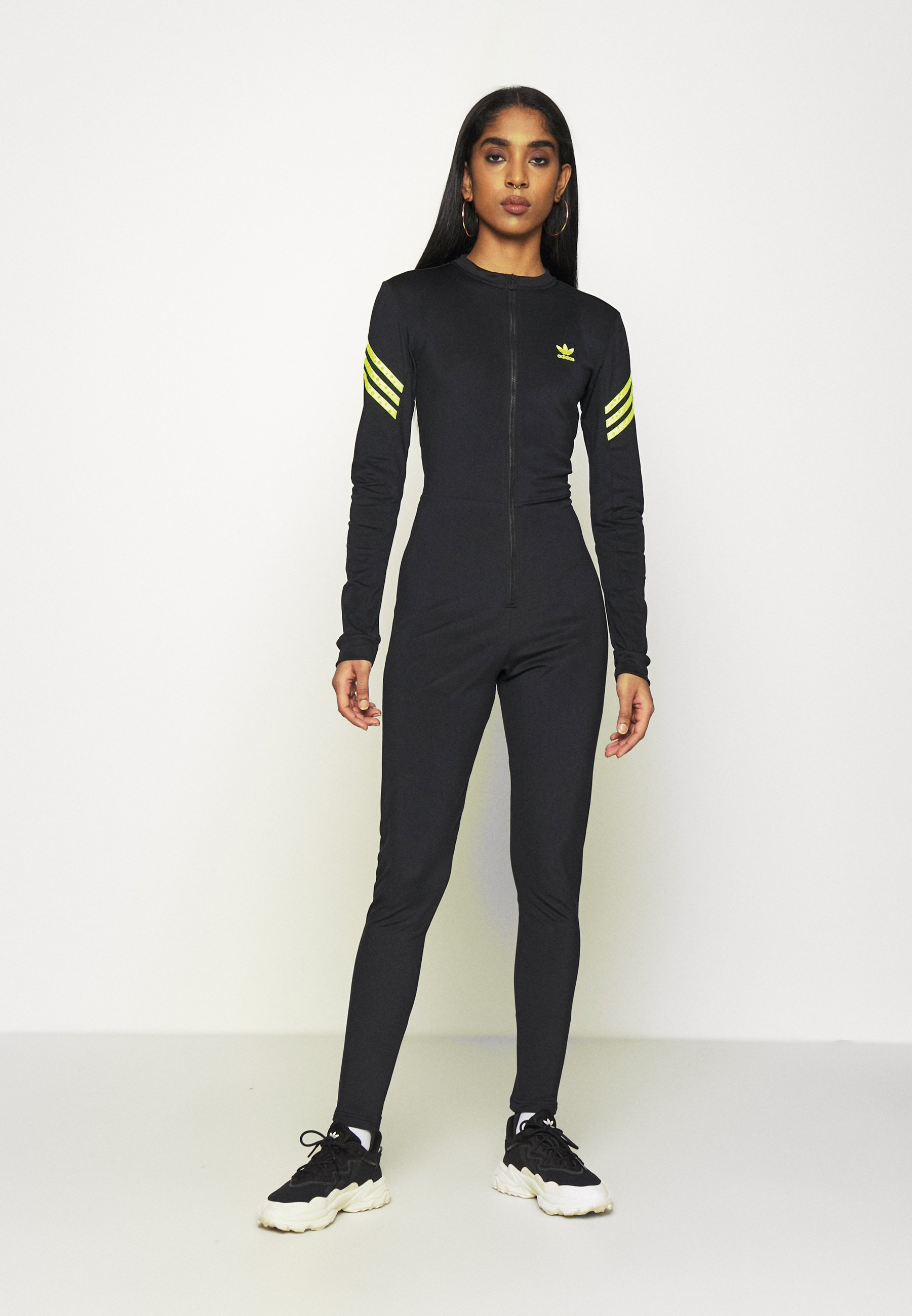 Desgastar hipocresía Ya  adidas Originals SWAROVSKI STAGE SUIT - Jumpsuit - black - Zalando.co.uk