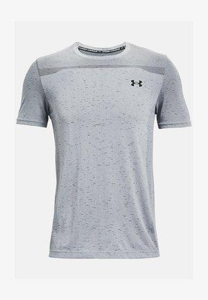SEAMLESS SS - Print T-shirt - mod gray