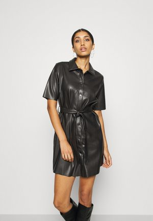 NMELISA PENNY DRESS - Shirt dress - black