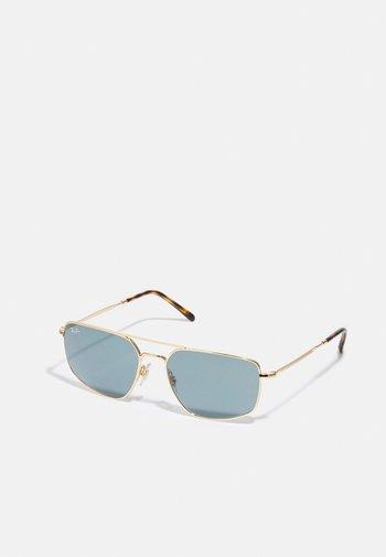 UNISEX - Sunglasses - shiny gold-coloured