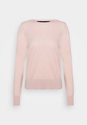 VMJENNIFER OPEN BACK BLOUSE - Jersey de punto - sepia rose