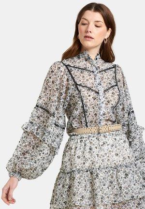 JOY BLOUSE - Button-down blouse - black